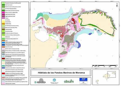 Compile marine maps to improve management of the Balearic sea