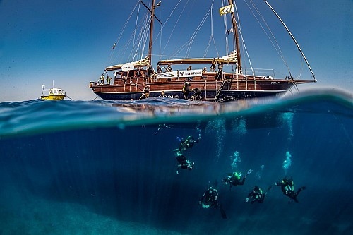 Dive camp in Formentera