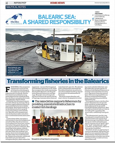 Marilles Fundation - Transforming fisheries in the Balearics