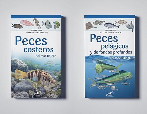 Marine wildlife mini-guides for the Balearic Sea