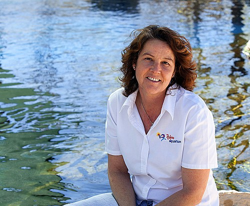 Debora Morrison, directora de conservació de Palma Aquarium