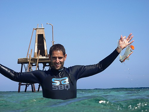 Víctor Carretero, marine environmental technician at GOB Menorca.