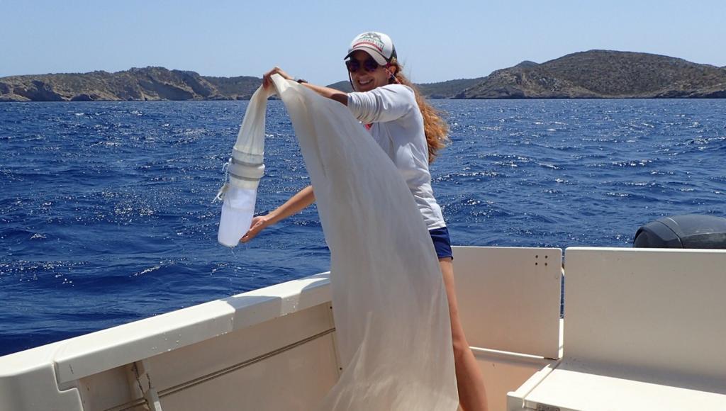 Montserrat Compa, researcher of the Oceanographic Institute