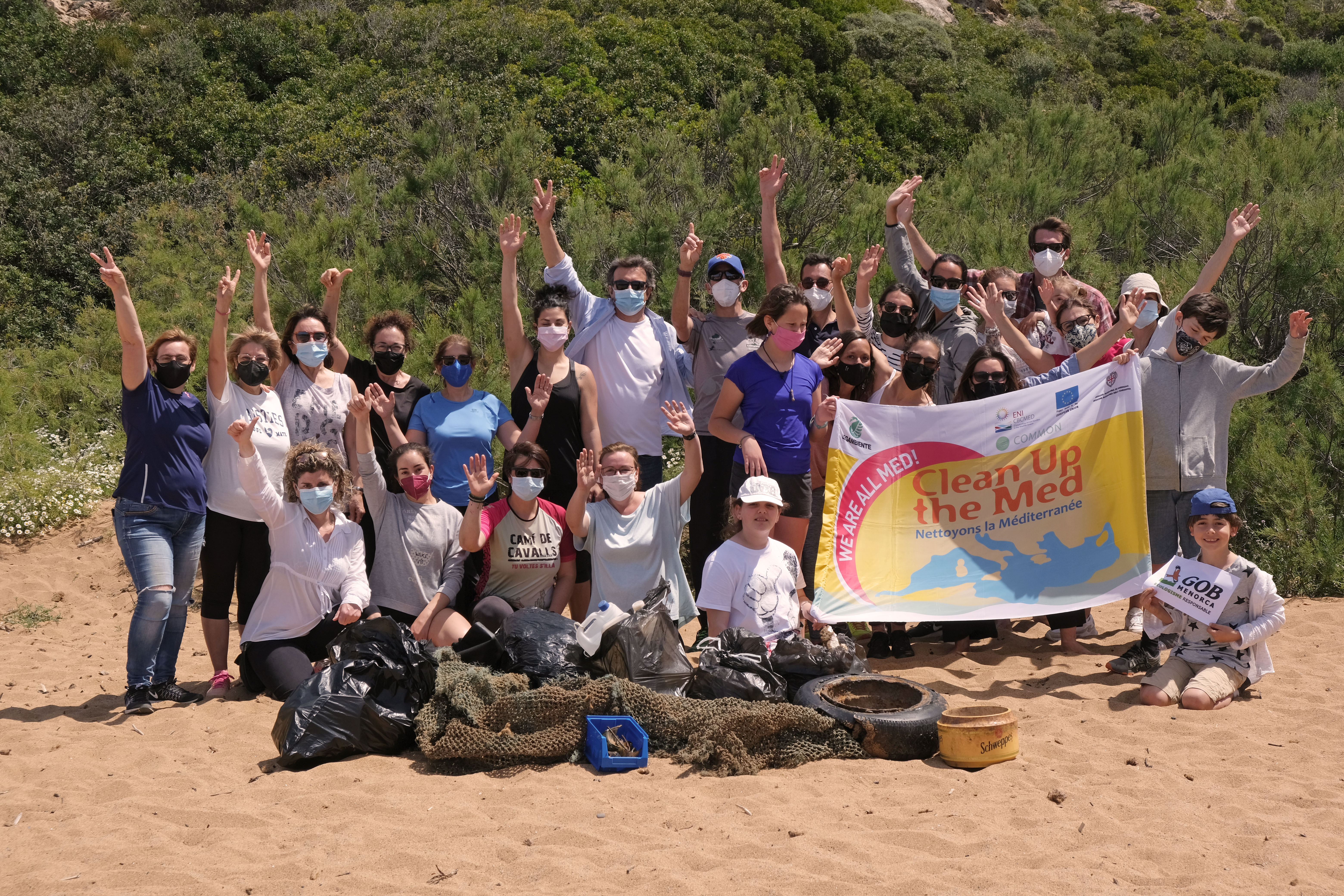 Results of the GOB Menorca marine programme